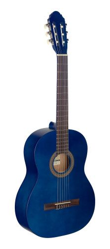 Stagg C430 3/4 Classical Guitar - Matt Blue
